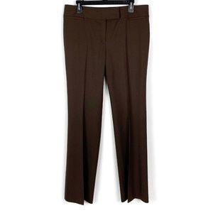 Lafayette 148 Straight Leg Virgin Wool Trousers 10